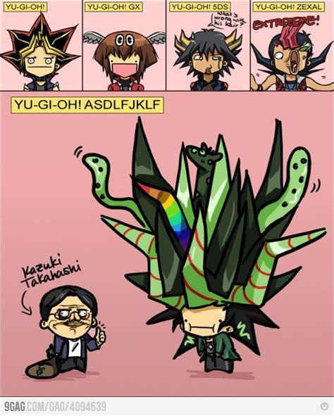 Yugi Meme - wtf is wrong with his hair starfish and anime