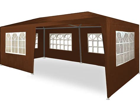pavillon 7x4 gazebo garden marquee rimini 3x6m 6 colors available