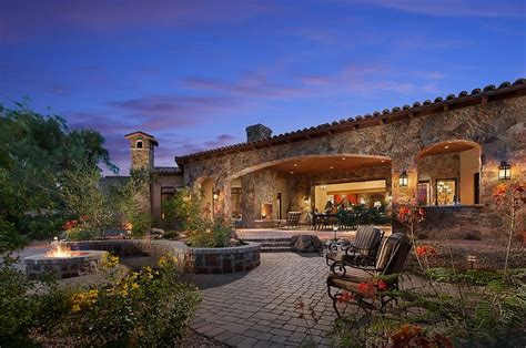 arizona style homes southwestern ranch by calvis wyant luxury homes luxury