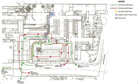 Commercial Complex Floor Plan union station changing the way people pick up and drop off