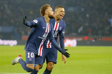neymar mbappe  icardi score  psg beats montpellier