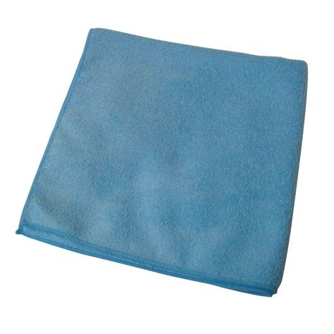 Blue Microfiber by Microfiber Technologies Commercial Grade 16 In X 16 In