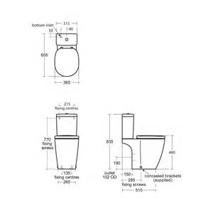 ideal standard concept freedom close coupled raised height toilet uk bathrooms
