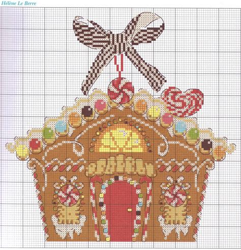house pattern cross stitch quirky artist loft cross stitch gingerbread house pattern
