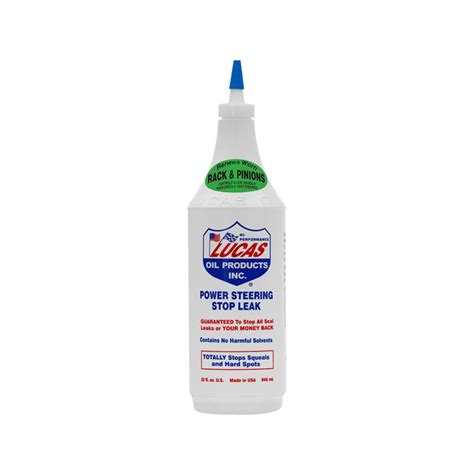 Lucas Engine Stop Leak Quart lucas 174 10011 power steering stop leak 1 quart