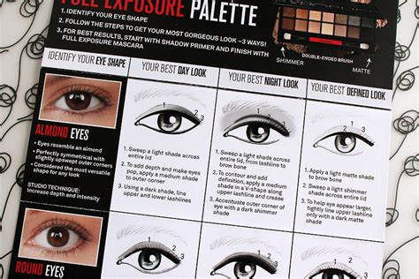 guides to apply l shaped girl guide how to apply makeup for your eye shape how