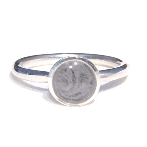 sterling silver 8mm circle ring closebymejewelry