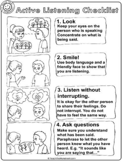 Listening Skills Worksheets For Kindergarten by Teach This Worksheets Create And Customise Your Own