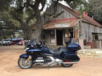 2018 honda gold wing tour dct test in texas hill country