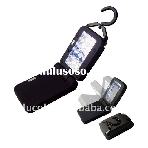 battery powered work lights flexible folding battery powered magnetic hook hanging led