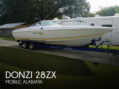 used bass boats for sale in mobile alabama for sale used 1999 donzi 28zx in mobile alabama boats
