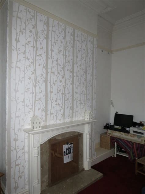 glitter wallpaper west midlands wallpaper chimney breast this is what our black glitter