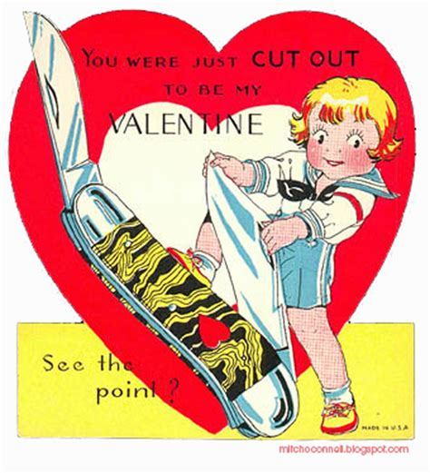 creepy valentines day cards 37 creepy vintage s day cards to horrify the one