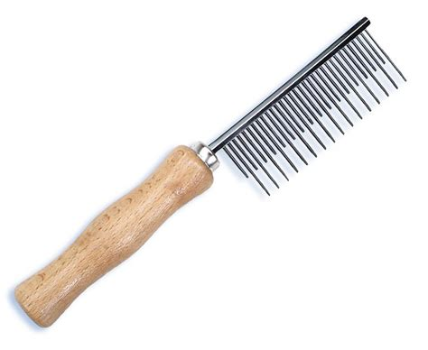 Combs For Shedding by Safari Shedding Comb For Haired Dogs Chewy