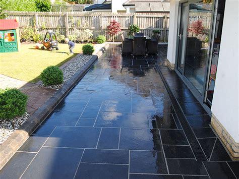 Small Stone Patio Designs Fairstone Limestone Aluri Riven Garden Paving Marshalls