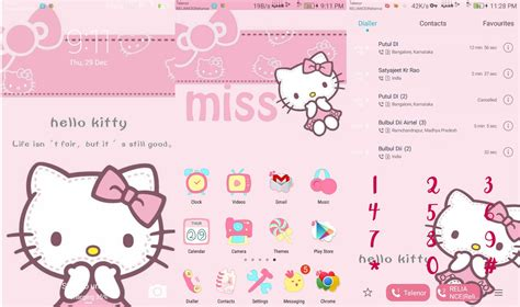 themes line hello kitty emui hello kitty emui themes