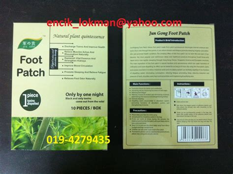 Boron Detox Side Effects by Detox Foot Patch Termurah Pelekat Kaki Serap Toksin