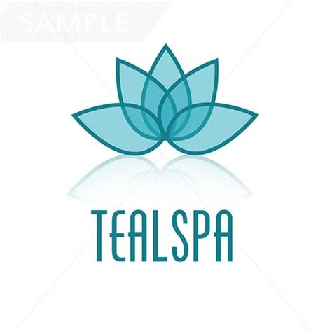 lotus spa lotus spa logo design