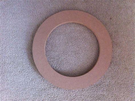 speaker adaptor subwoofer  ring  mdf