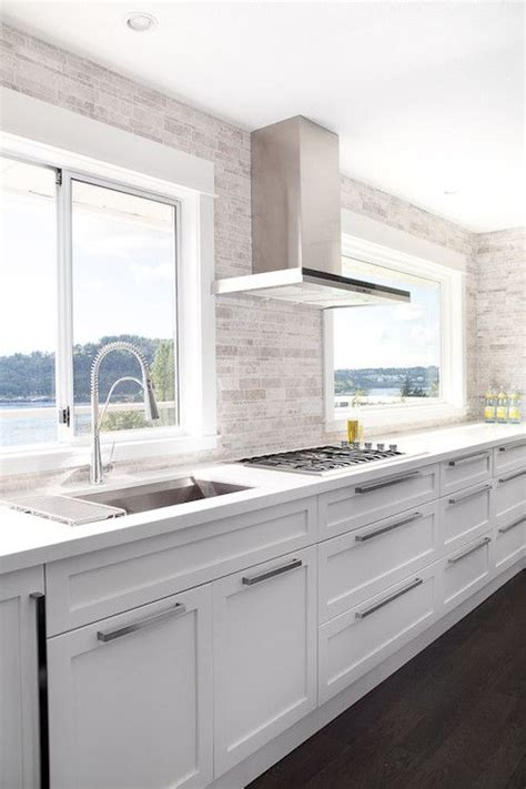 contemporary white kitchen cabinets the world s catalog of ideas