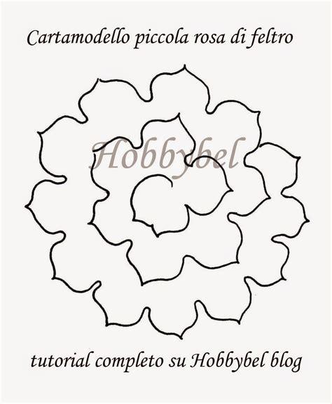 fiori di feltro schemi hobbybel creativit 224 romantici fiori di feltro sfumati di