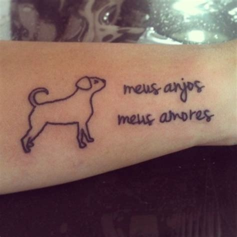 simple dog tattoo designs outline on arm tattoos book 65 000 tattoos