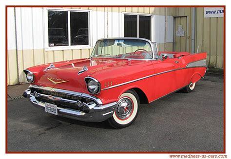 car möbel de 5247 1957 chevrolet bel air d 233 capotable par revell