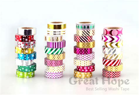 Gh 03 6x 15mm Gold Foil Washi Buy Wholesale Rice Paper Sticker From China Rice