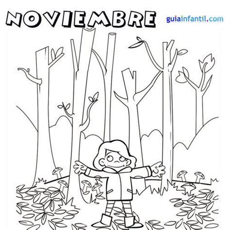 imagenes para colorear noviembre dibujos para imprimir y pintar del mes de noviembre