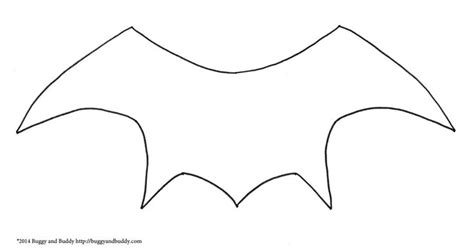 bat wing template 1000 ideas about bat template on