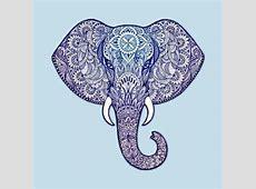 Henna Elephant Art - Diwali Festival - T-Shirt   TeePublic Indian Elephant Henna Drawing