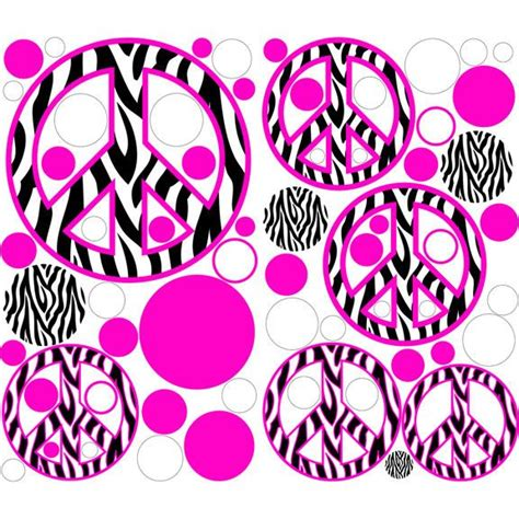 Wallpaper Sticker Dinding Batik Pink 155 best images about peace sign wallpapers on wall stickers machine guns and