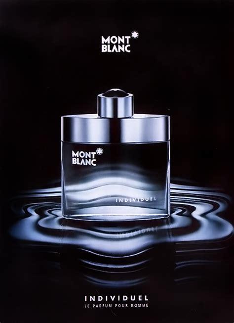 Parfum Montblanc Individuel publicit 233 du parfum individuel 2004 2005 de mont blanc