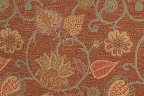 upholstery fabic rothschild scarborough tapestry upholstery fabric in nutmeg