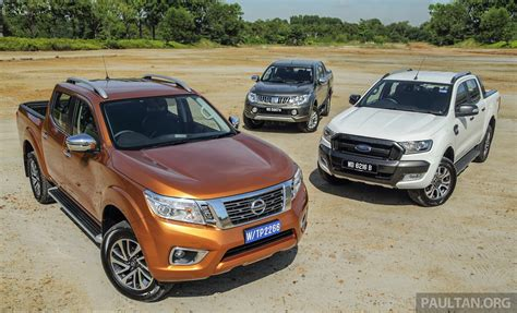 Driven 2015 Nissan Navara Vs Ford Ranger Vs Mitsubishi Triton