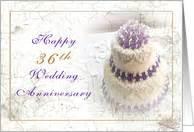 36th wedding anniversary