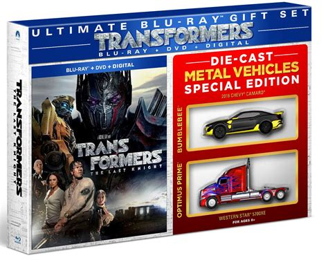 Transformer Die Cast Set transformers the last walmart ca exclusive gift set with die cast vehicles