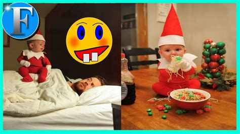 dad turns baby into elf on the shelf usa today 10 dad turns baby into real life elf on the shelf youtube
