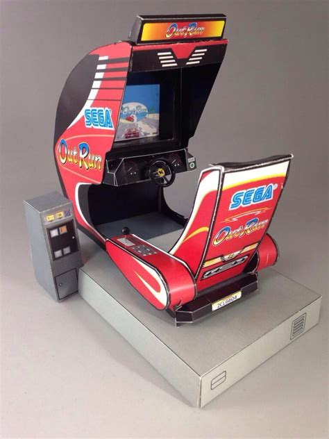 Paper Craft Machine - sega papercraft arcade machines sega outrun 86