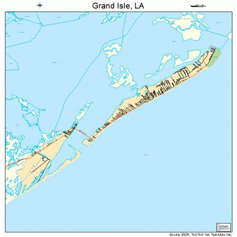 grand to la map grand isle louisiana map 2230830