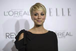 from big theory new haircut big bang theory actress kaley cuoco sweeting to sport