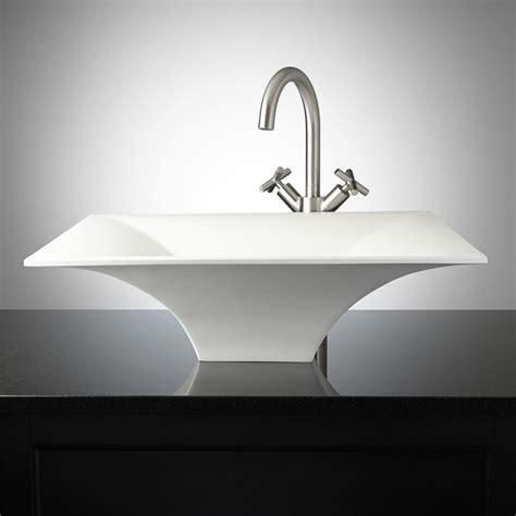 vessel sinks wei matte resin vessel sink bathroom