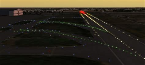 what color are taxiway lights flightgear forum view topic taxiway centerline