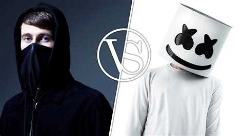 marshmello vs alan walker alan walker vs marshmello edm battle youtube