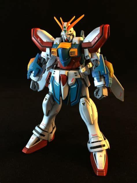 Hg God Gundam Hgfc God Gundam 1 144 1 144 hgfc god gundam painted build