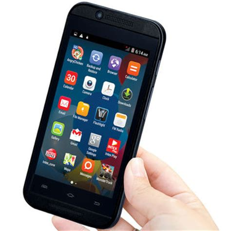buy intex aqua 5x android mobile with 3g online at best