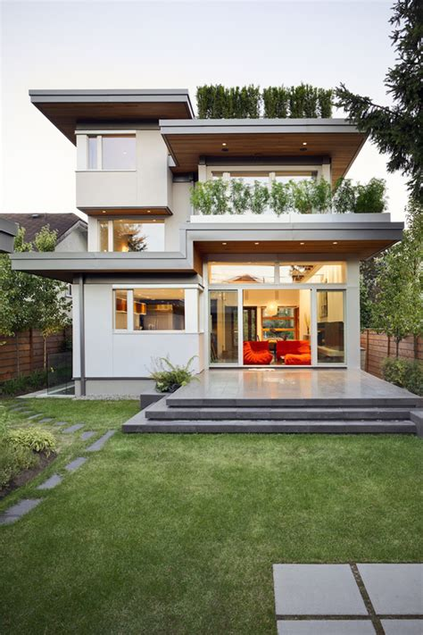 modern home designs sustainable modern home design in vancouver