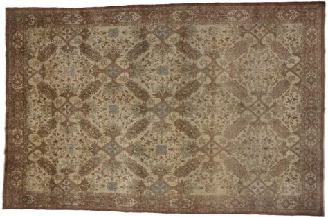 neutral color rugs antique tabriz rug with modern design in neutral colors for sale at 1stdibs