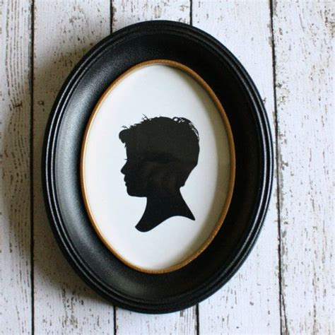 5x7 oval frame add a frame to your silhouette classic oval silhouette