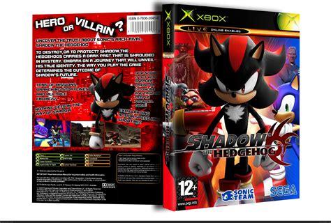 shadow  hedgehog xbox box art cover  techno guy